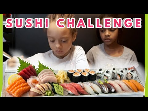 SUSHI CHALLENGE I ABEL TWINS