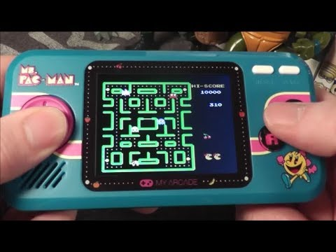 Ms. Pac Man Pocket Player Gameplay & Sound