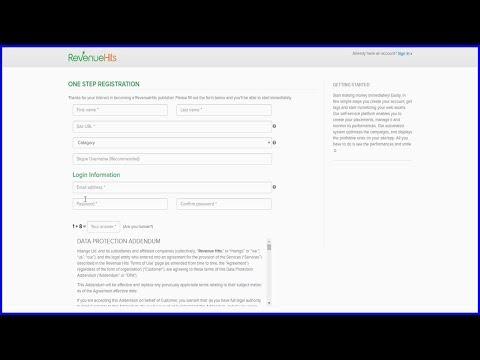 Monetizar Seu Site Com Revenuehits