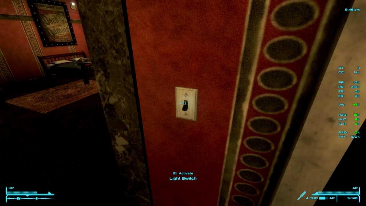 Fallout: New Vegas - Interior Lighting Overhaul Mod - YouTube