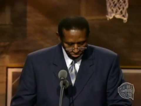 Earl F. Lloyd's Basketball Hall of Fame Enshrinement Speech