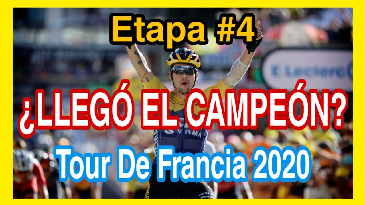 Etapa #4 ?Tour De Francia 2020? Resúmen De Etapa - Primoz Roglic Ganador
