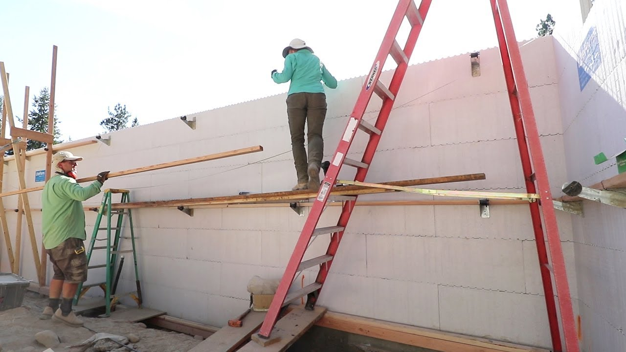 MAYDAY! MAYDAY! Can Our ICF Wall Be Fixed?