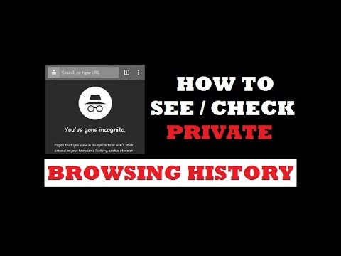 How to Check Private Browsing History | See Incognito Browsing History from YouTube · Duration:  2 minutes 47 seconds