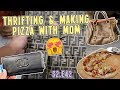 THRIFTING & MAKING PIZZA WITH MOM | VLOG S2.E42