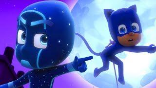 Герои в масках |  Лунное супер приключение | 60 минут |  мультики для детей