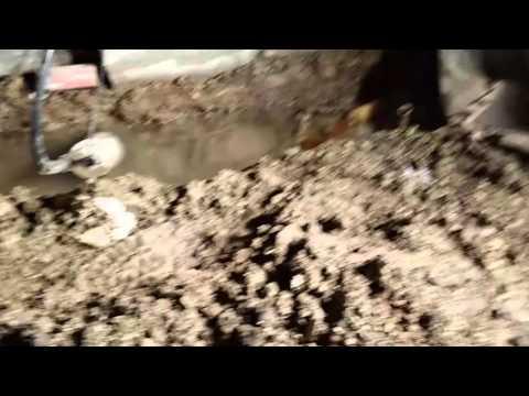 The Basement Kings Water Passing Through Concrete Block Wall