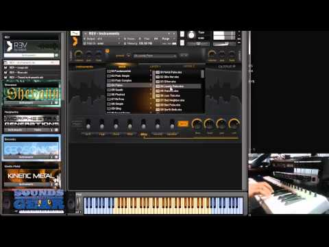 Review of Output Sounds REV reversed instrument library - SoundsAndGear