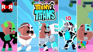Teeny Titans - All Cyborgs VS The Hooded Hood - iOS / Android - Gameplay Video