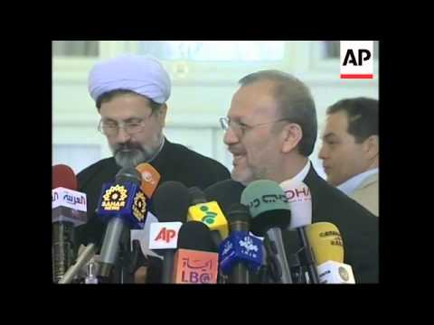 WRAP Iran''s FM, Asefi on IAEA report