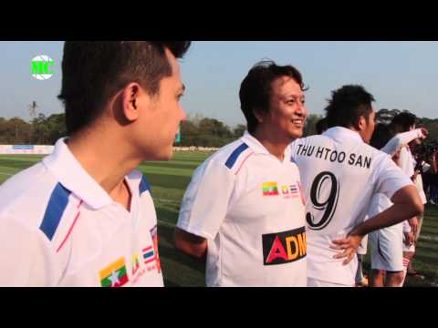THAILAND SUPER STAR FC BEAT MYANMAR ACTOR STAR FC BY 3:2