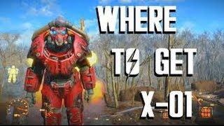 X-01 Power Armor Location - SUPER EASY - 35 Court - Fallout 4