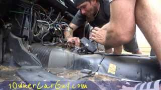 Taking a Car apart Used Parts Replacement Part For Sale ~Complete Disassembly Video