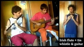 Irish Flute + Tin Whistle & Guitar