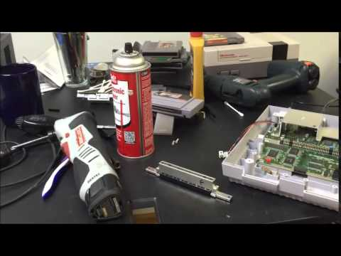 how to give super nintendo cartridge a good clean