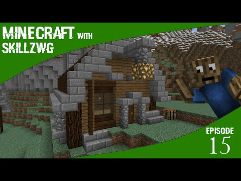 Nice Farm Shed - Minecraft with SkillzWG :: Episode 15