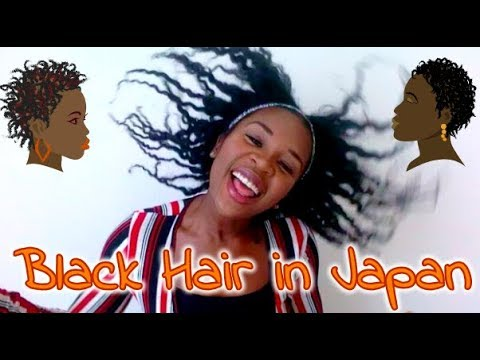 Black Hair in Japan