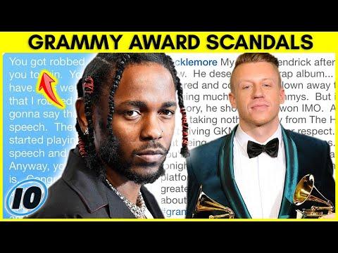 Top 10 Biggest Grammy Award Show Scandals
