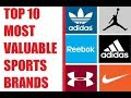 Top 10 Most Valuable Sports Brands - Top Sport Brands List