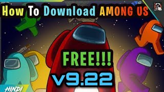How To Download Among us PC for latest version | Among.Us.v09.22.2020s | Multiplayer in Hindi