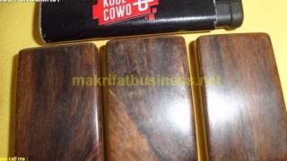 Liontin kayu GAHARU BUAYA model kotak polos 01