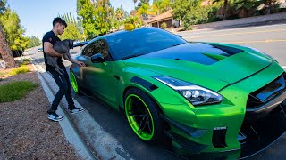 Download Picking Up TAXI Riders In A 1000HP GTR! Mp3 and Videos
