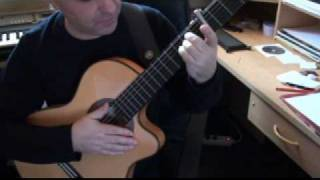 leon de guitare vido la robe et l chelle francis cabrel joue par freddy colcy