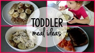 TODDLER MEAL IDEAS | Healthy Breakfasts for Kids