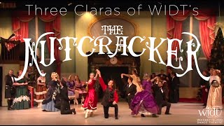 WIDT's Three Claras of The Nutcracker 2014, 2017, 2019