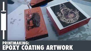 How to Epoxy Coat Artwork with ArtResin