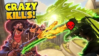 Overwatch -  0.01% Chance Crazy Kills!