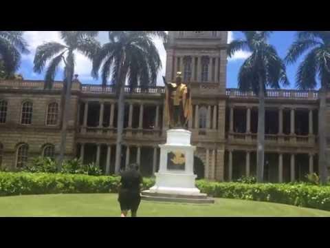 Native Hawaiian Chant, King Kamehameha Statue