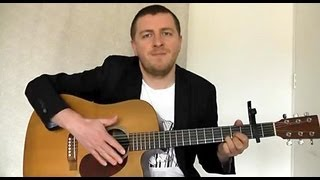 Song to The Siren - Fingerstyle Guitar Lesson - Tim Buckley- Drue James