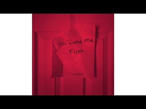 you broke me first (Clean Version) (Audio) - Tate McRae