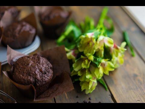 Кексы маффины с изюмом кулинарный рецепт
