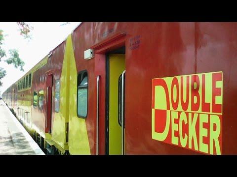 WDM-3D Double Decker Full Journey - Konkan Railway
