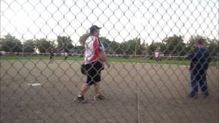 My Movie Darcy Culp Umpiring the 'A' Men's Final Of The Optimist 3-Pitch Tournament