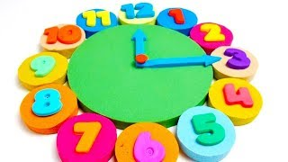 Learn Colors for Children with Surprise Clocks | Coloring Pages for Kids #Rans_Kids_Tv