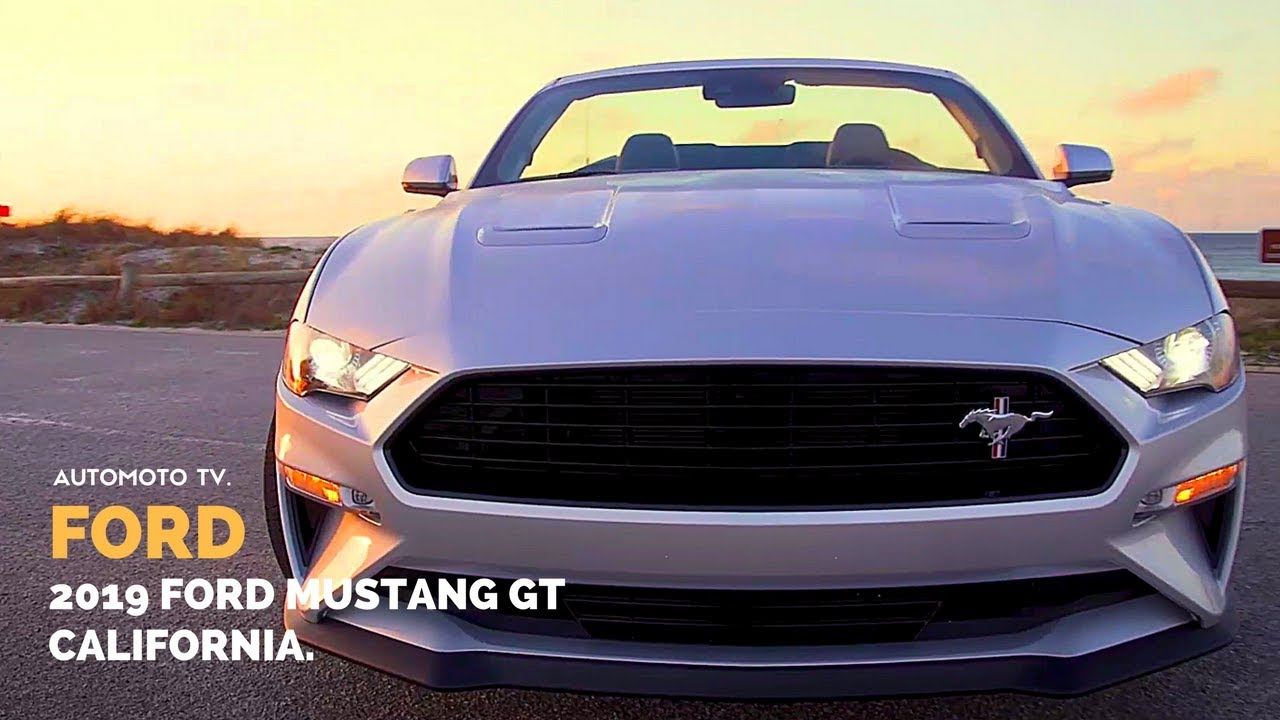 2019 Mustang GT California Special | America's favorite sports car