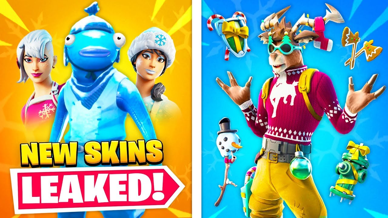 2020 Christmas Skins Top 25 NEW Fortnite Skins THAT GOT LEAKED!   YouTube