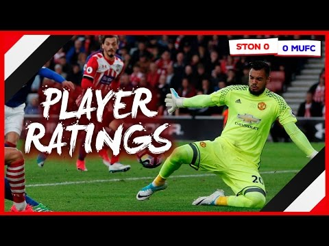 SOUTHAMPTON 0-0 MAN UNITED | PLAYER RATINGS | ROMERO ACE...DE GEA REPLACEMENT?