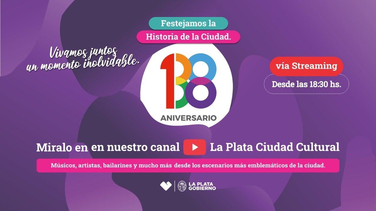 La Plata 138 Aniversario