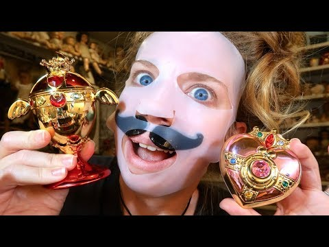 KOREAN Beauty Haul - SAILOR MOON Makeup!!