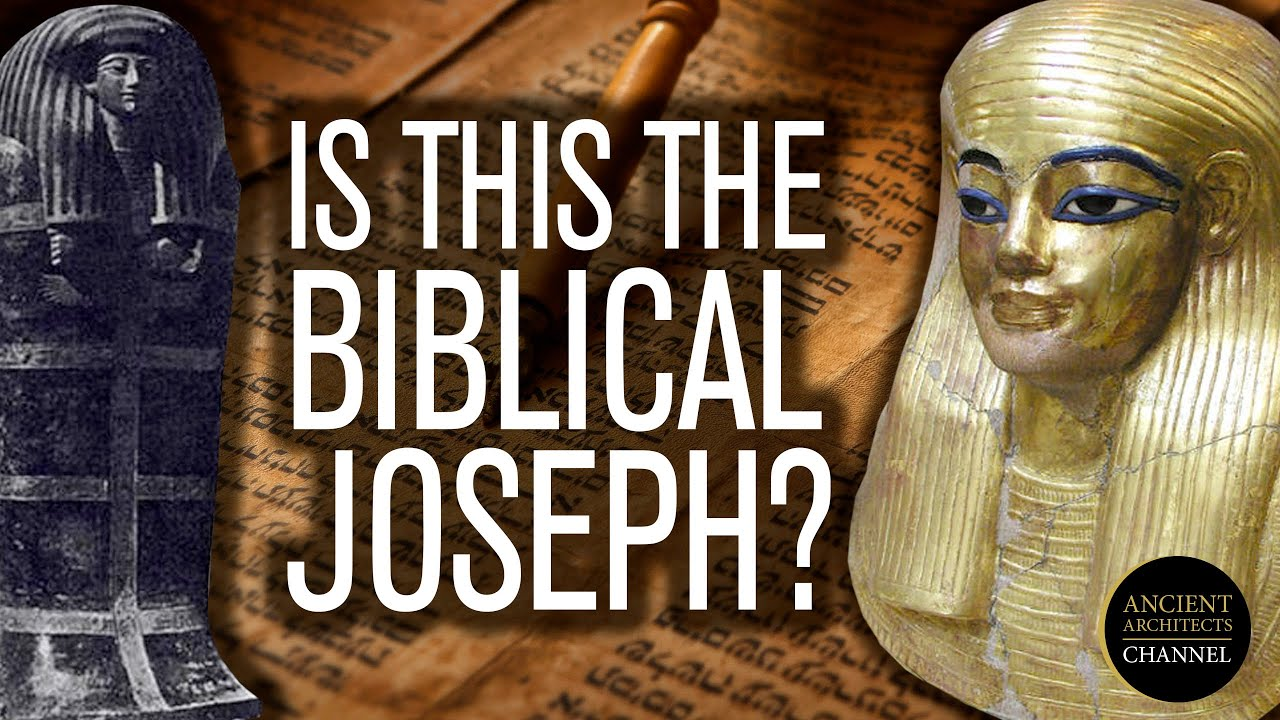 Is this the Historical, Biblical Joseph from 18th Dynasty Ancient Egypt? | Ancient Architects