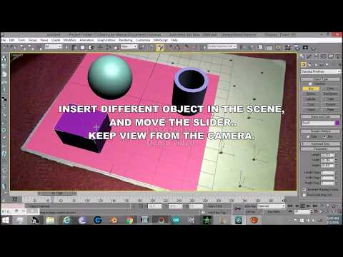 Here is 3ds max Camera Tracking (Simplified) by Bilal Ayub