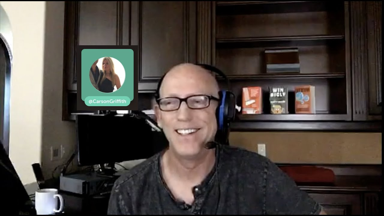 Episode 1044 Scott Adams: Special Guest Carson Griffith and Lots About the Protests and Biden