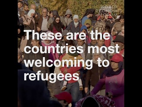 These are the countries most welcoming to refugees