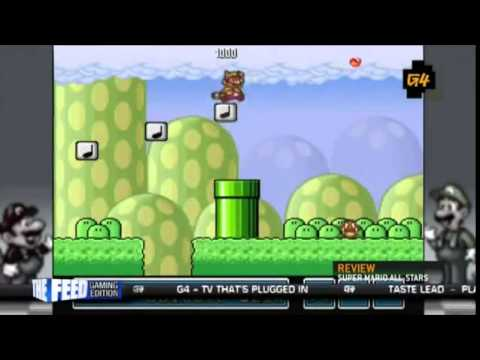 X-Play Super Mario Brothers 25th anniversary Wii Review