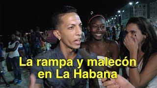 Rampa y Malecón en La Habana