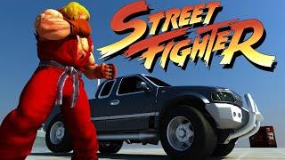 First Person Street Fighter - Car Bonus Stage